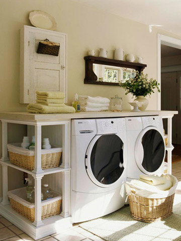 B. Washer/Dryer On A Pedestal Like The Following: