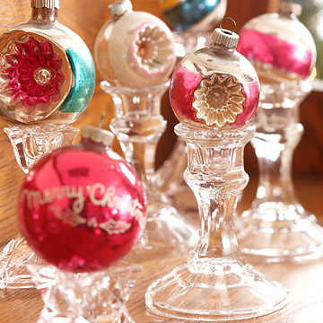 Ornaments on candlesticks