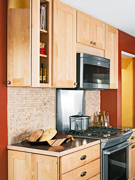 Kitchen backsplashes six different ways Kitchen backsplash ideas bhg