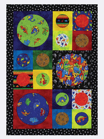 Noah's Ark Quilt Pattern - Complete with Animals and Ark