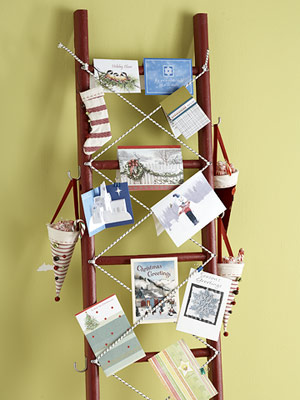 Card holder ladder