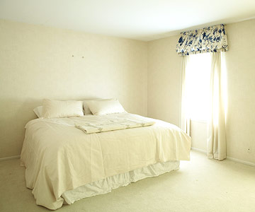 From Plain Bedroom to Color Rich