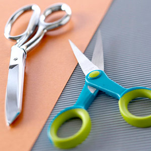 Crafts scissors and shears