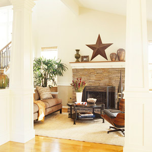 Diy home staging tips ins and outs of staging a fireplace for Diy home staging ideas