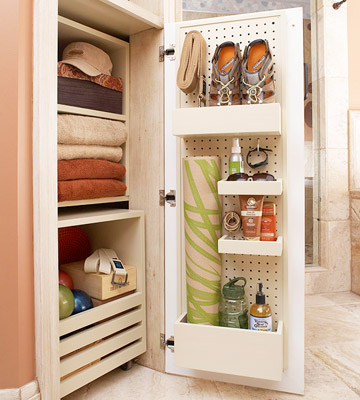 bathroom small space storage tricks