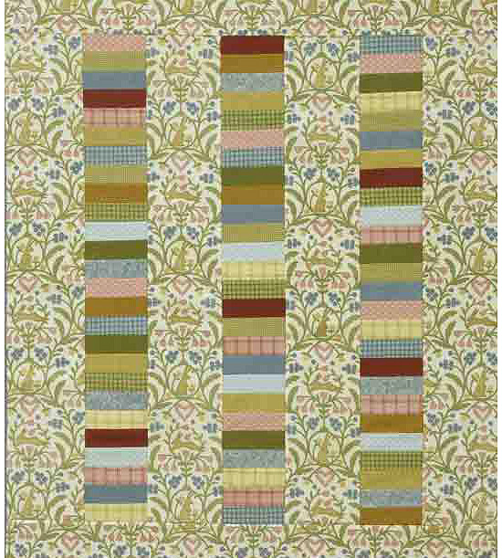 Neutral colored quilt