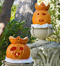 Royal Court Pumpkins for Halloween