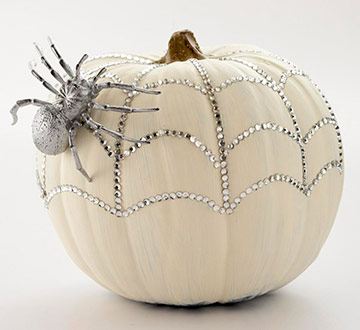 Glittery Pumpkin by BHG