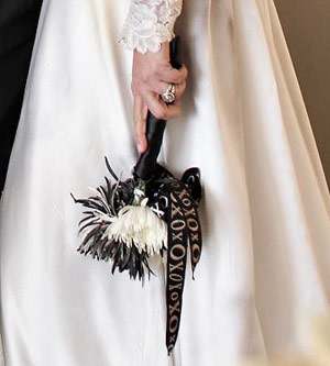 Halloween Wedding Bouquet