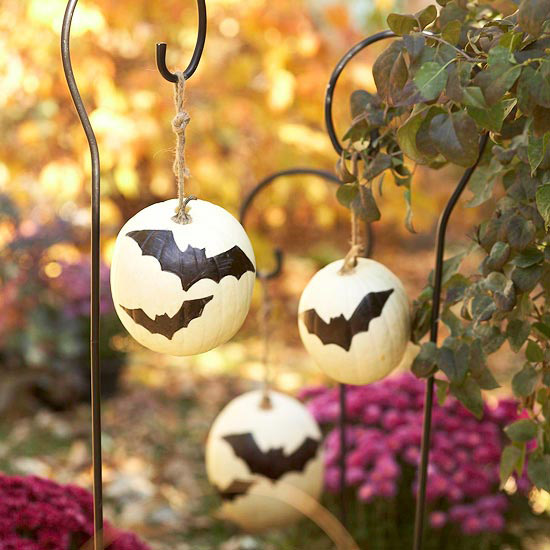 Bat Pumpkins