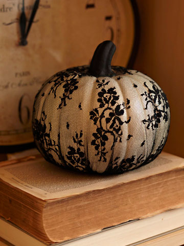 Lacy Pumpkin by BHG
