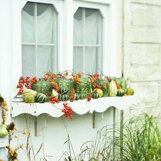 Pumpkin Planter Display