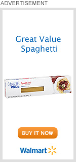 Great Value Spaghetti