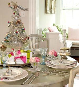 vintage no 35 last minute christmas table setting ideas