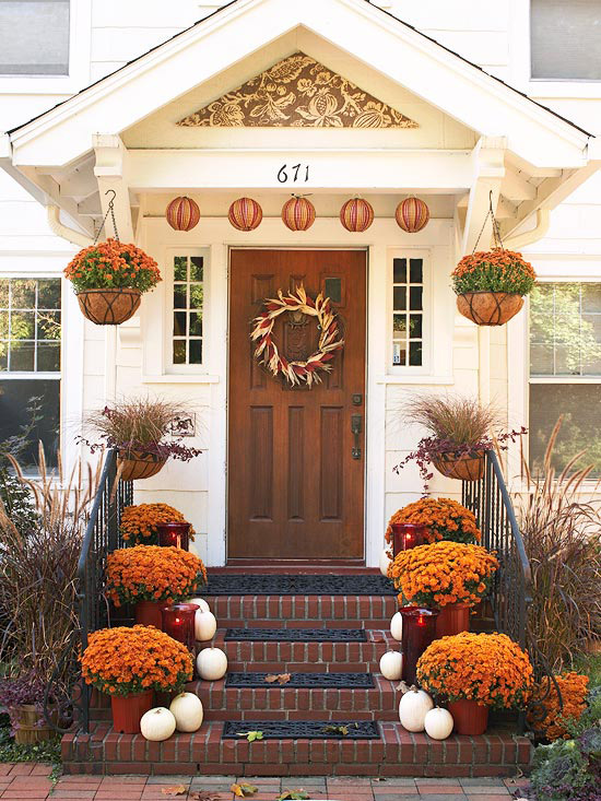Autumn Curb Appeal