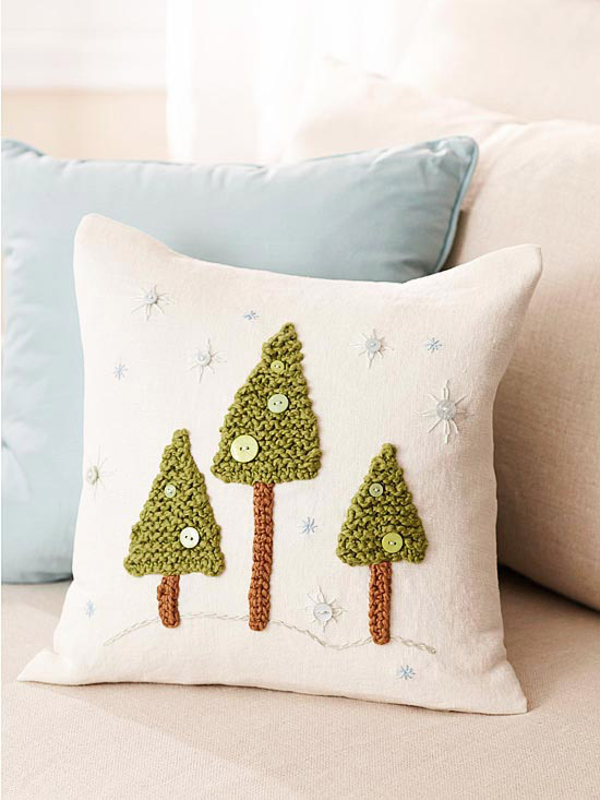 Winter Flurry Pillow