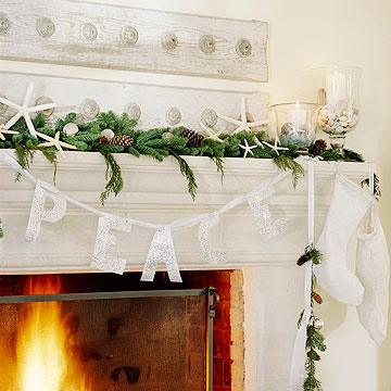 Beach Side Mantel