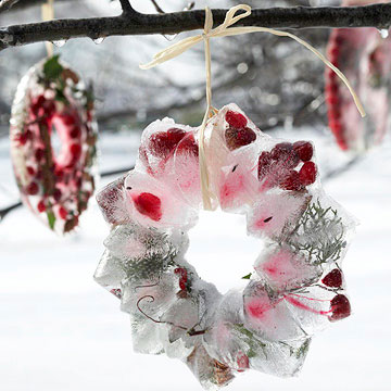 Sparkling Ice Wreath