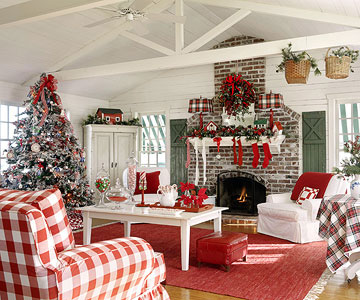 Holiday Family room