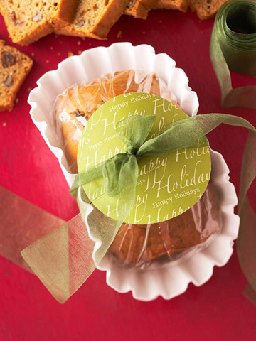 Scrapbooking for Food gift packaging ideas