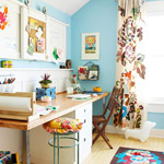 Colorful Work Space