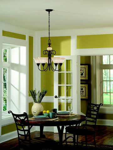 J k homestead shades of green - Our fave color for dining room decorating ideas ...
