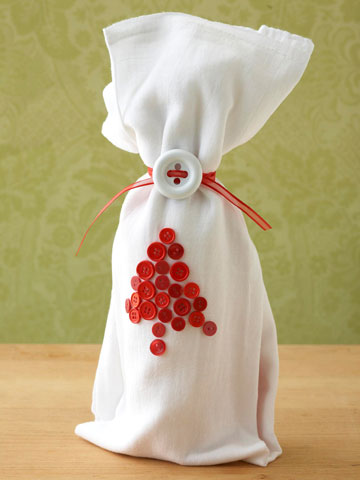 Buttons Wine Wrap