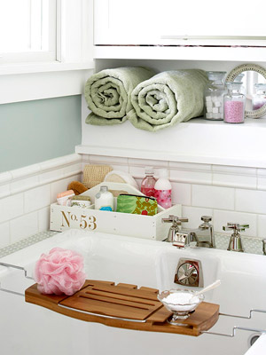 Quick + Easy Bath Storage