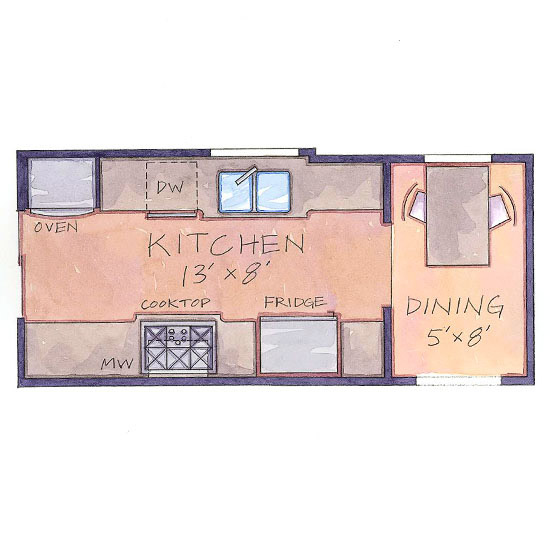 Home design living room january 2014 - Small kitchen floor plans ...