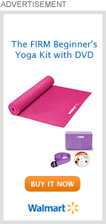 The FIRM Beginner's Yoga Kit with DVD