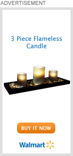 3 Piece Flameless Candle