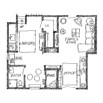 Home Remodeling Design on Home Designer Plans   Elevations  Basement Remodeling