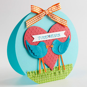 Two Birds Valentine Card