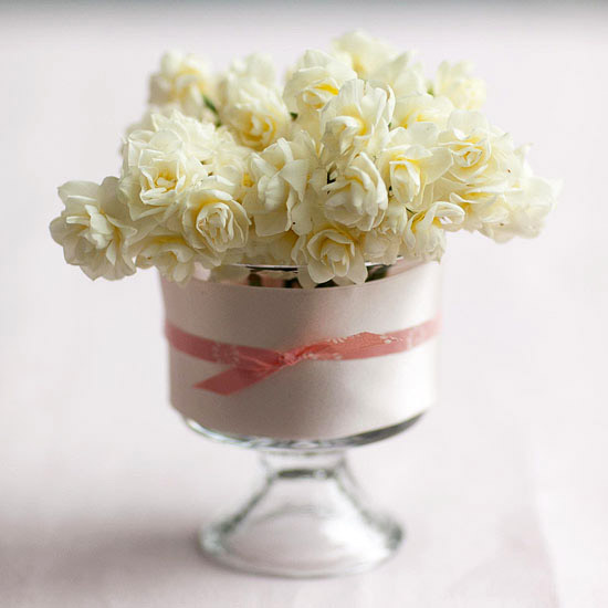 Dessert Cup with Bow Tie