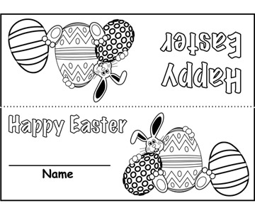 Easter Bunny Place Card