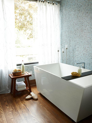 A Modern Take bathtub