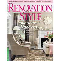 Renovation Style Summer 2011 Cover
