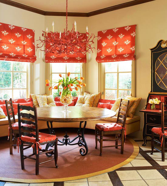 French Country Dining Room Color Scheme