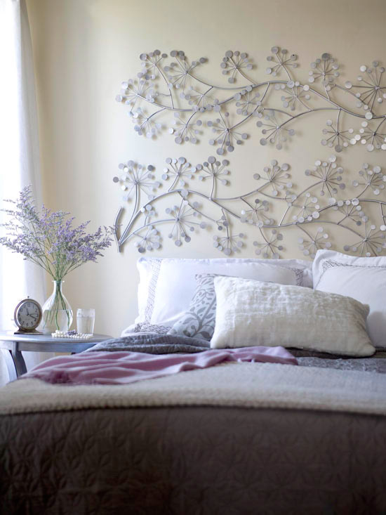 Decorative Metal headboard