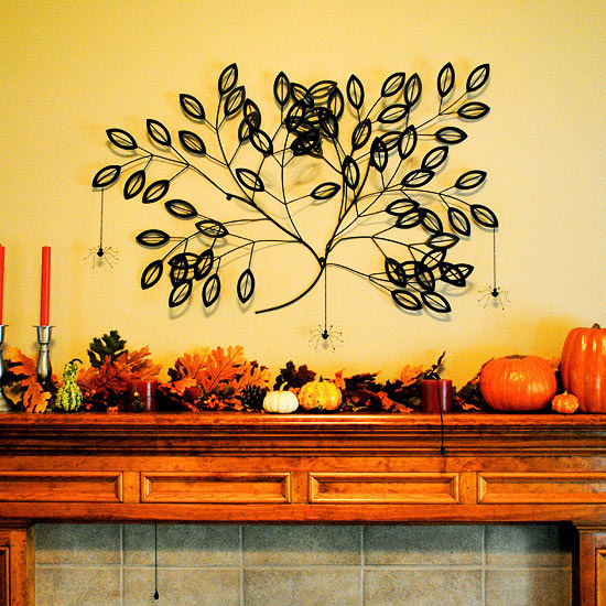 Audrey Pool Fall Mantel