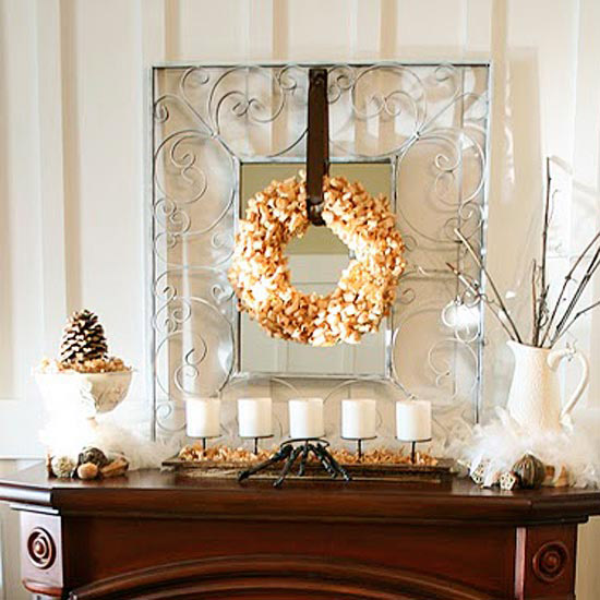 Beth Hunter Fall Mantel