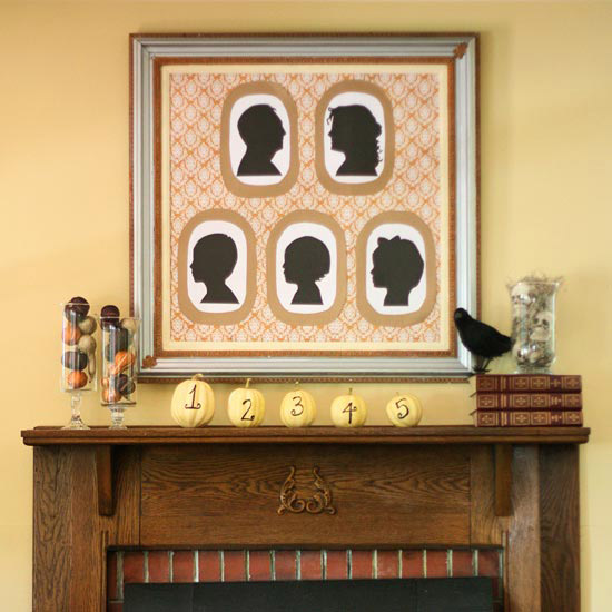 Kellie Tate Fall Mantel