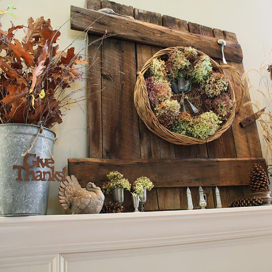 Laura Putnam Fall Mantel