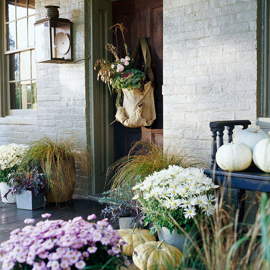 Country Front Porch Decorating Ideas: Cool Country Porches