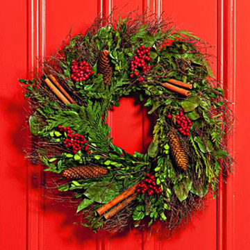 "Buy Our 18"" Fresh Wreath!"