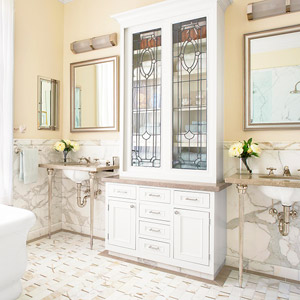Bathroom with Victorian Roots