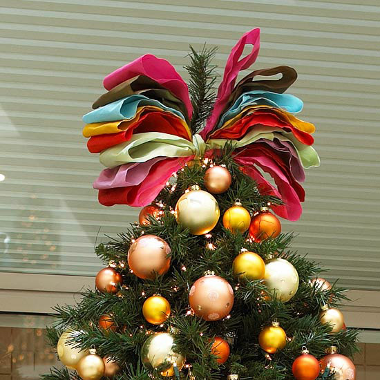 Big Bow Tree Topper