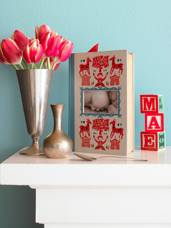 Picture frame book