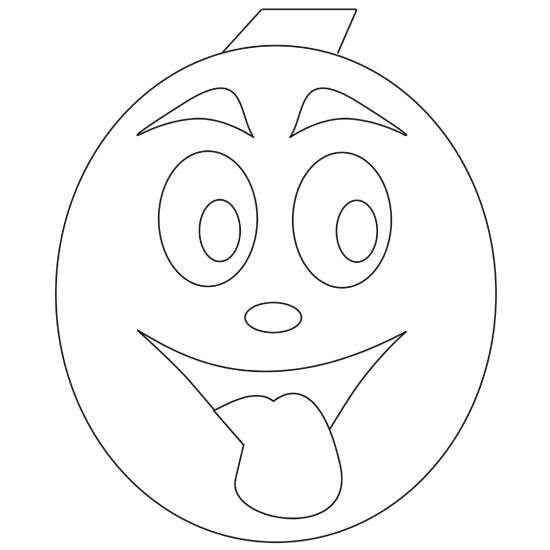 coloring mouth tongue out coloring pages