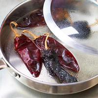 Steaming Peppers